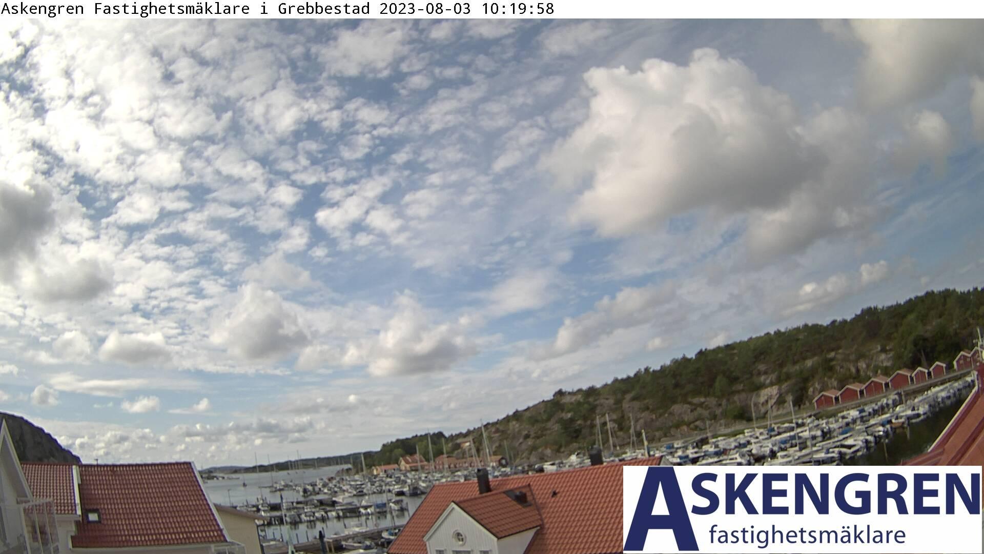 Webcam Grebbestad, Tanum, Bohuslän, Schweden